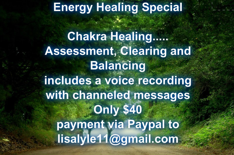 March Energy Healing Special